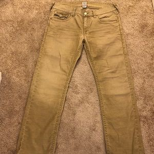 True Religion Ricky Corduroy Denim Jeans